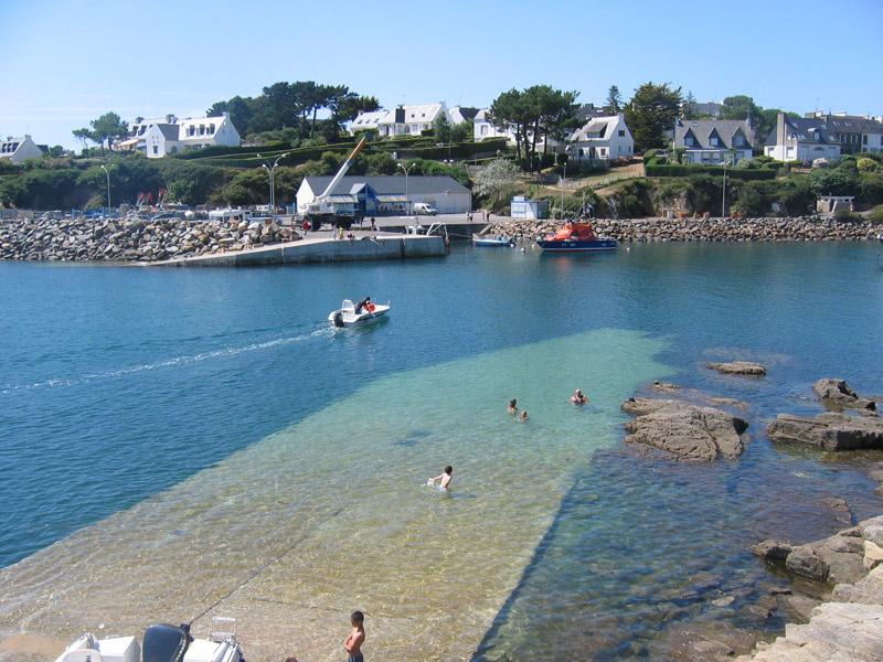 la cale, un lieu de baignade très apprécié